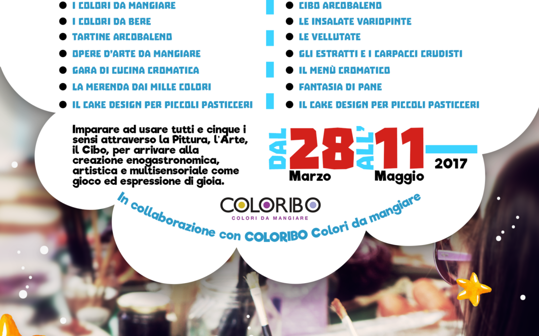 Corsi di cucina Coloribo presso l'Istituto Eccelsa di Alberobello e Bari
