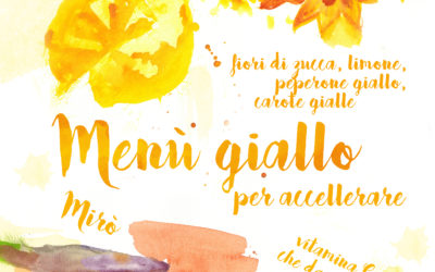 CORSI di Cucina creativa sui 5 colori del benessere, corsi di Pittura su colori ed emozioni.