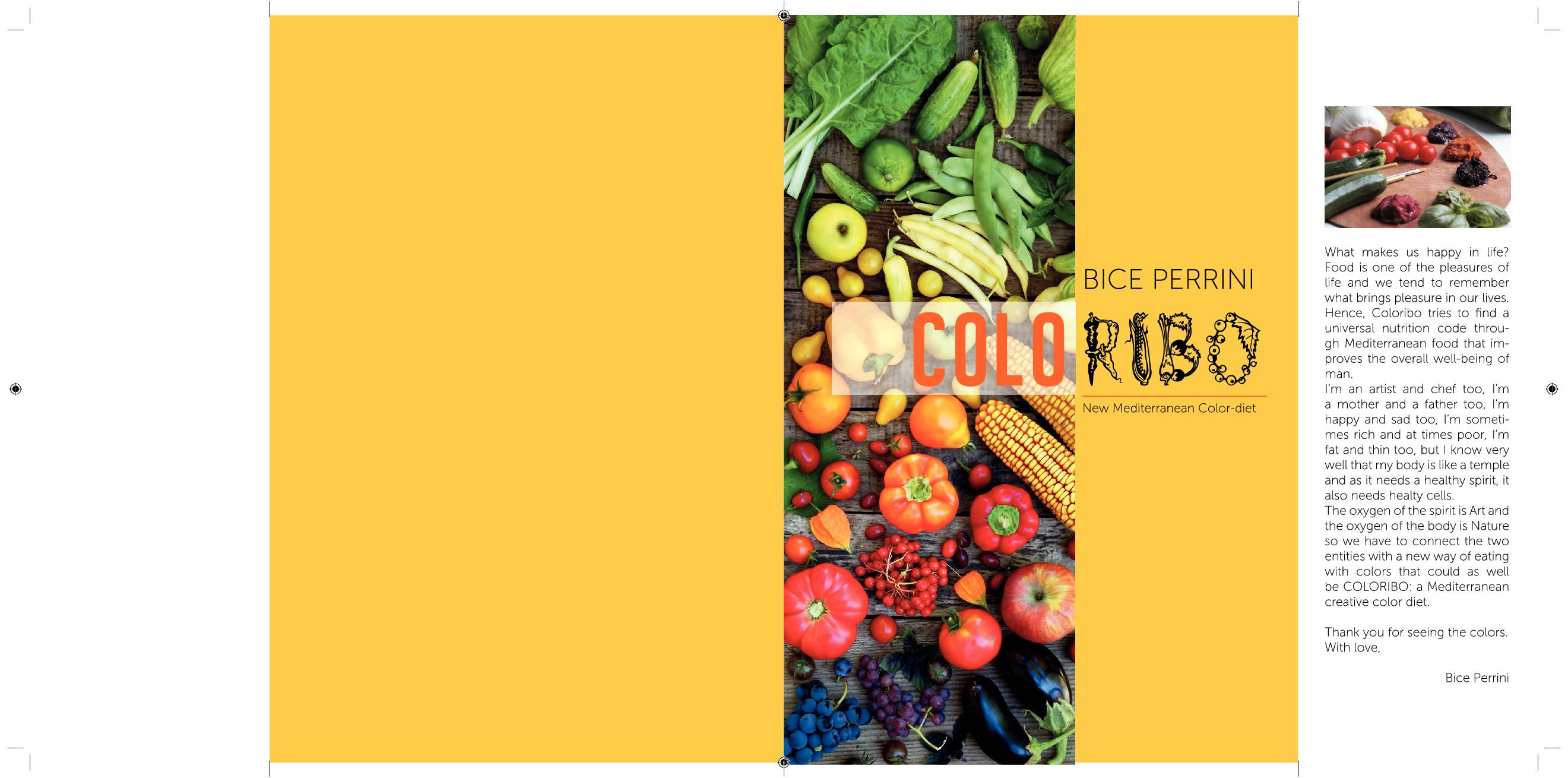 Coloribo book: New Mediterranean Color-diet