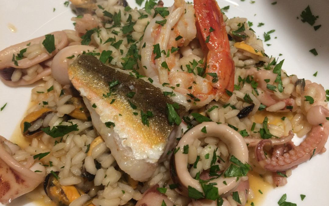 Seafood Dinner with the colors of Mediterranean  on Tuesday 30 July in Bari Apulia